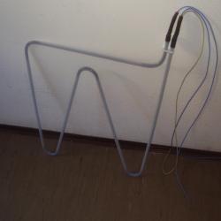 Heater in PTFE tube