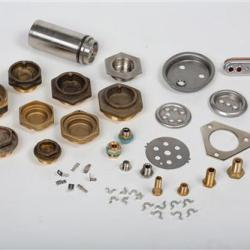 Samples of equipment used for mounting heaters